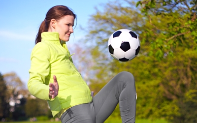 Female soccer ACL tears