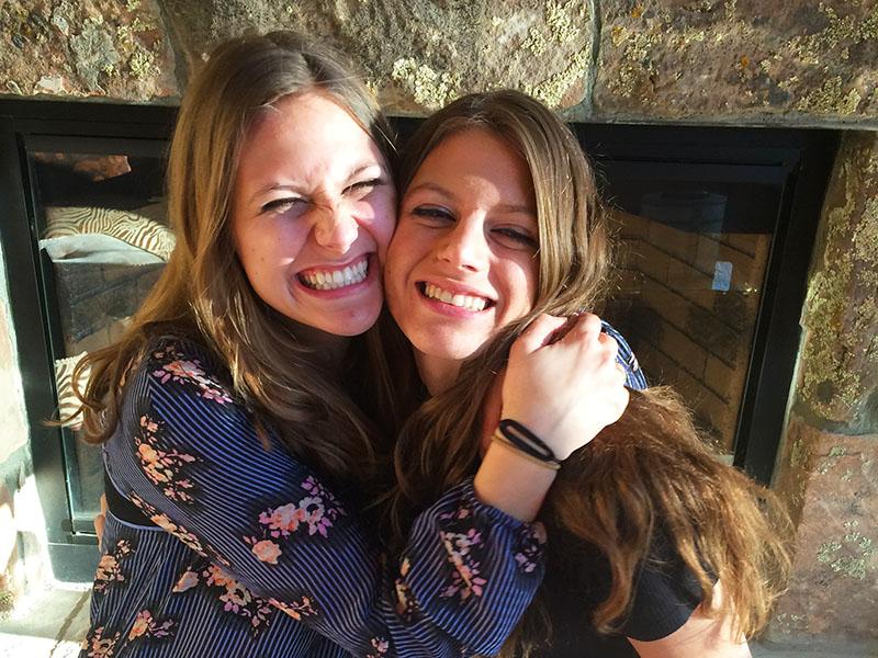 Dr. Brandt's daughters
