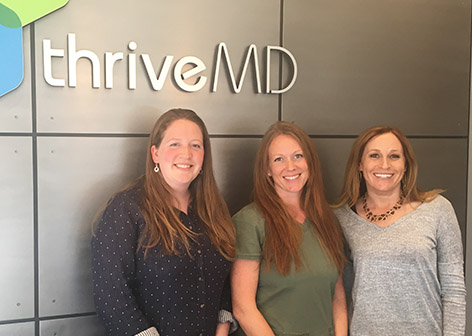 thriveMD clinic front desk