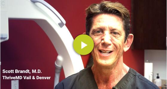Dr. Scott Brandt, ThriveMD Vail & Denver
