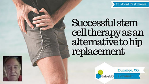 stem cell therapy for hip pain patient review